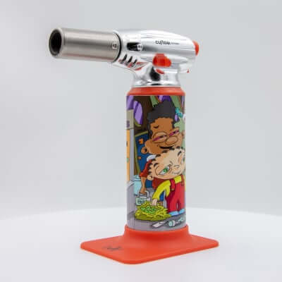 "Custom Torches - Dunkees ""Nice Nuggs"" Butane Torch - Red"