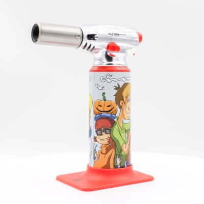 "Custom Torches - Dunkees ""Find Daphne"" Butane Torch - Red"