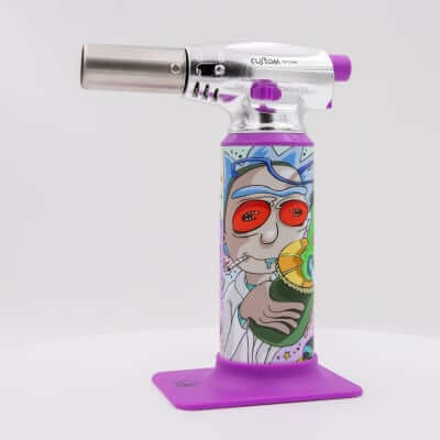 "Custom Torches - Dunkees ""Microverse"" Butane Torch - Purple"