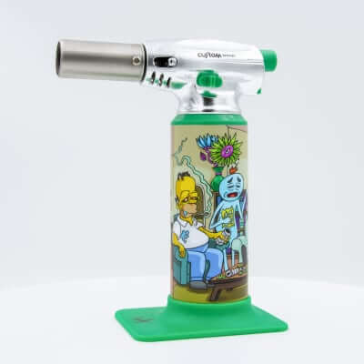 "Custom Torches - Dunkees ""Impossible Task"" Butane Torch - Green"