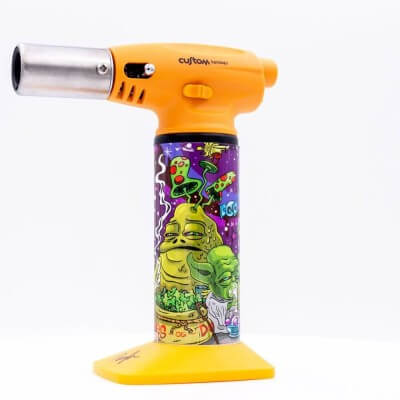 Custom Torches Nano Torch Dunkees Dab Wars - Gold - 01